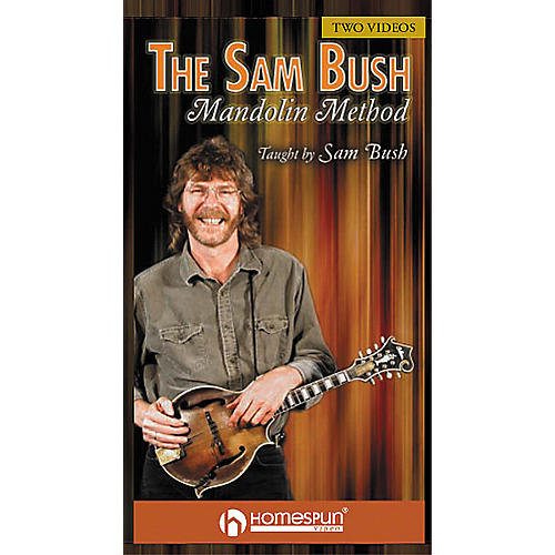 Homespun The Sam Bush Mandolin Method (2-VHS set)-thumbnail