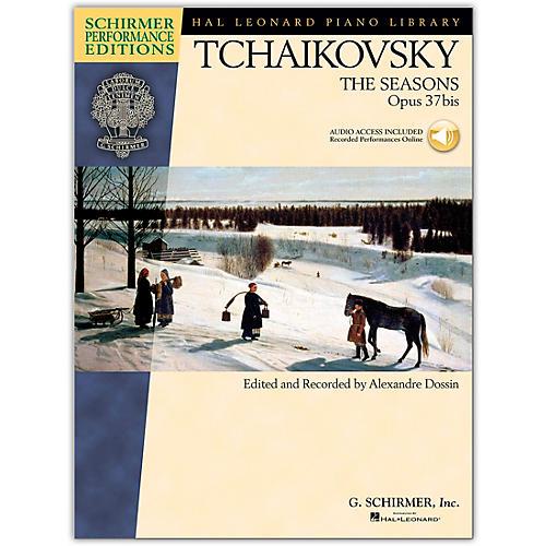 G. Schirmer The Seasons - Schirmer Performance Edition Book/CD By Tchaikovsky / Dossin-thumbnail
