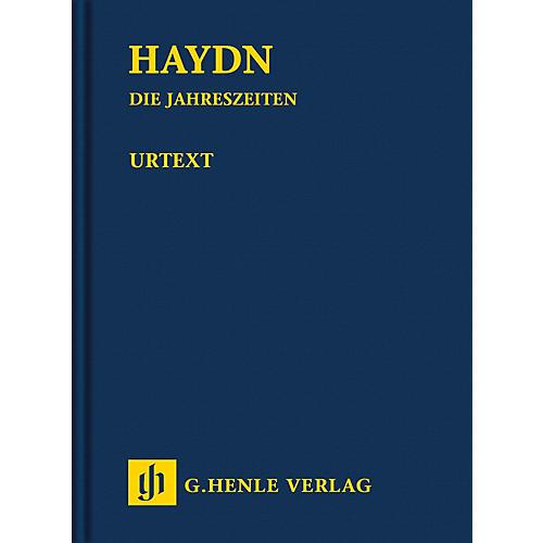 G. Henle Verlag The Seasons Hob. XXI:3 Henle Study Scores Series Hardcover Composed by Joseph Haydn Edited by Armin Raab