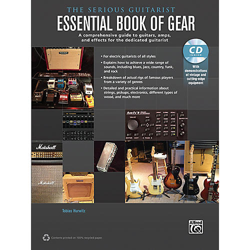 Alfred The Serious Guitarist Essential Book of Gear Book & CD-thumbnail