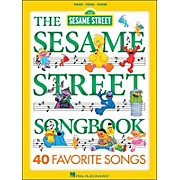 Hal Leonard The Sesame Street Songbook 40 Favorite Songs arranged for piano, vocal, and guitar (P/V/G)