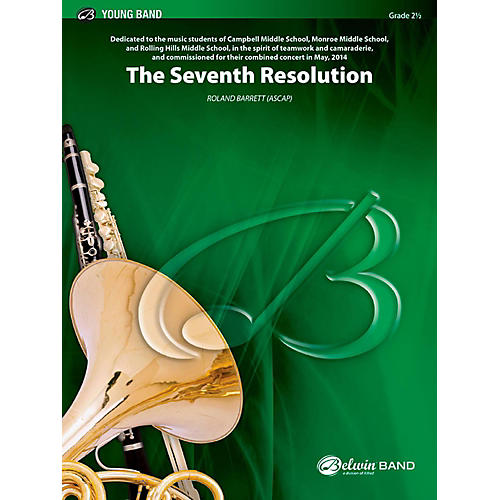 BELWIN The Seventh Resolution Concert Band Grade 2.5 (Easy to Medium Easy)-thumbnail