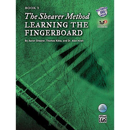 Alfred The Shearer Method Book 3: Learning the Fingerboard Book & DVD-thumbnail