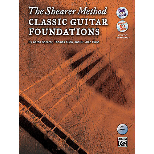 Alfred The Shearer Method: Classic Guitar Foundations (Book, CD & DVD)-thumbnail