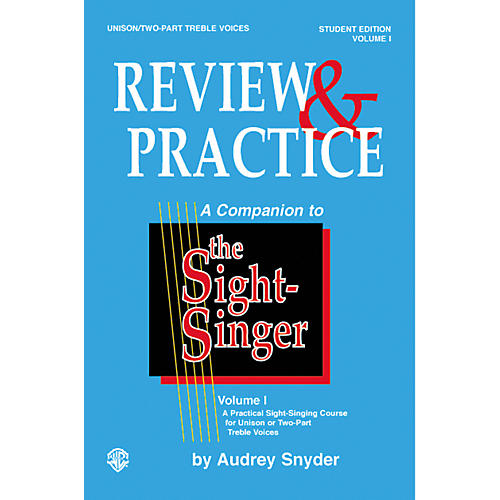 Alfred The Sight-Singer Unison Voices Review and Practice, Edition A-thumbnail