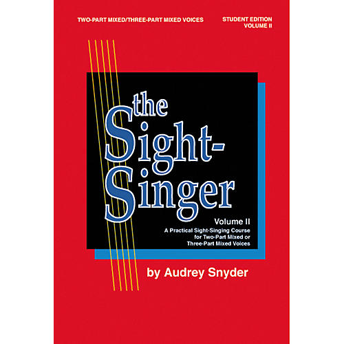 Alfred The Sight-Singer Vol. II Mixed Voices Student Edition