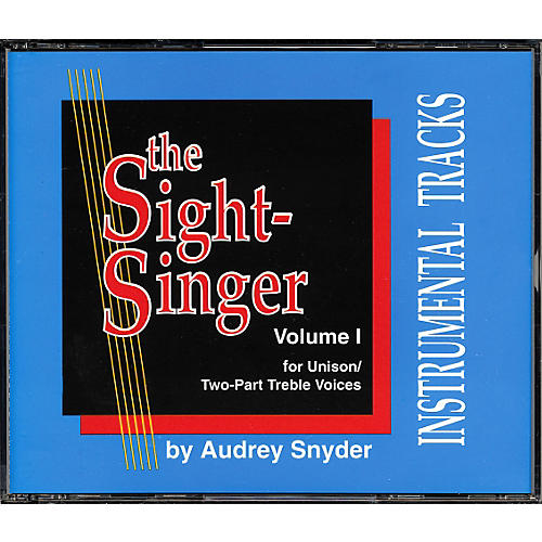 Alfred The Sight Singer Volume 1: Accompaniment CDs