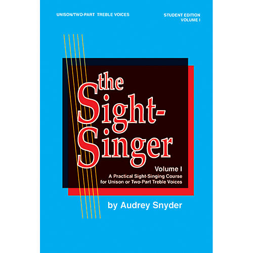 Alfred The Sight-Singer Volume I for Unison/Two-Part Treble Voices-thumbnail