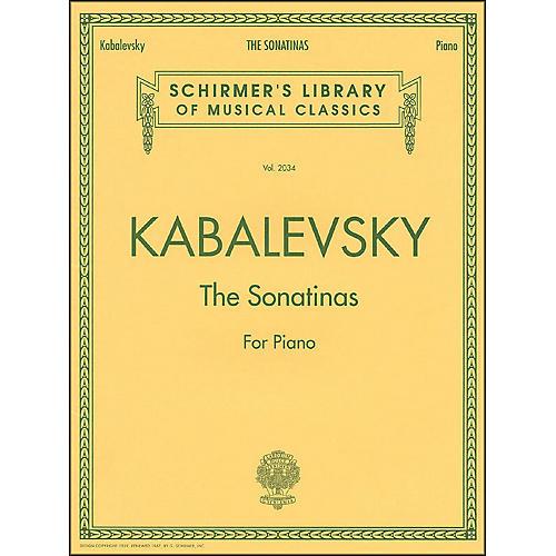 G. Schirmer The Sonatinas Op 13 No 1 & No 2 Piano By Kabalevsky-thumbnail