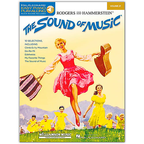 Hal Leonard The Sound Of Music - Easy Piano Play-Along Volume 27 (Book/Online Audio)-thumbnail