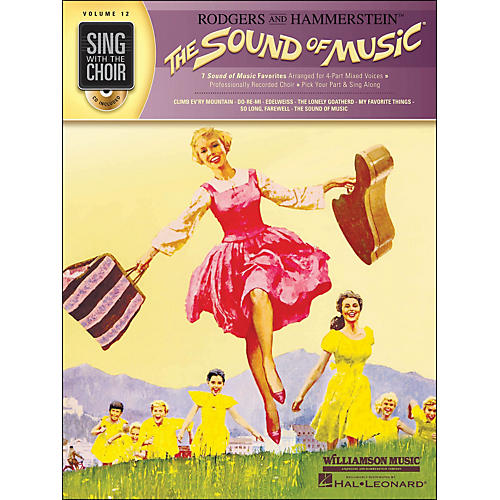 Hal Leonard The Sound Of Music - Sing with The Choir Series Vol. 12 Book/CD-thumbnail
