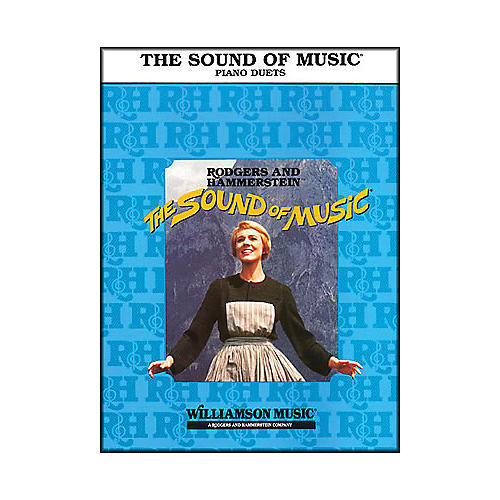 Hal Leonard The Sound Of Music, Duet Late Intermediate, One Piano Four Hands-thumbnail