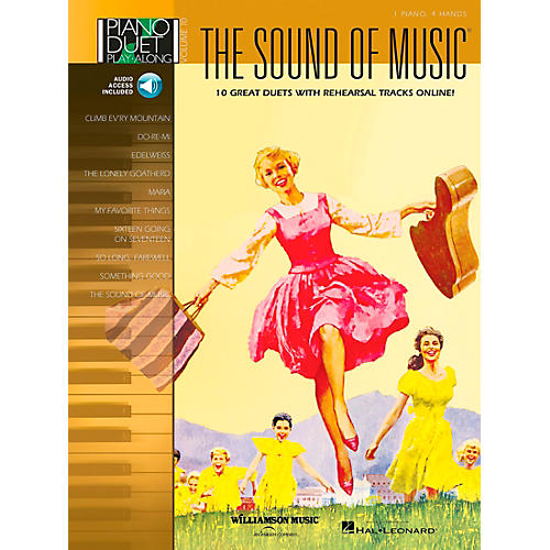 Hal Leonard The Sound Of Music Piano Duet Play-Along Volume 10 Book/CD-thumbnail