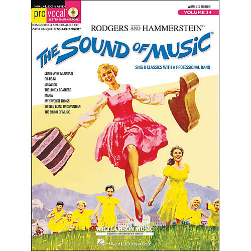 Hal Leonard The Sound Of Music Pro Vocal Series for Female Singers Volume 34 Book/CD-thumbnail