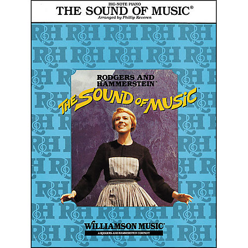 Hal Leonard The Sound Of Music for Big Note Piano Arranged By Phillip Keveren