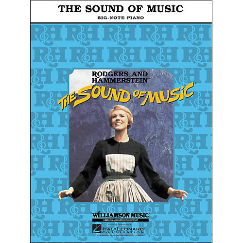 Hal Leonard The Sound Of Music for Big Note Piano