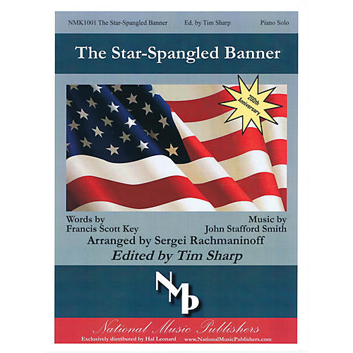 Gentry Publications The Star-Spangled Banner (Arranged by Sergei Rachmaninoff) Piano arranged by Sergei Rachmaninoff