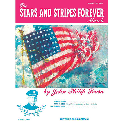 Willis Music The Stars and Stripes Forever March Willis Series by John Philip Sousa (Level Mid-Inter)