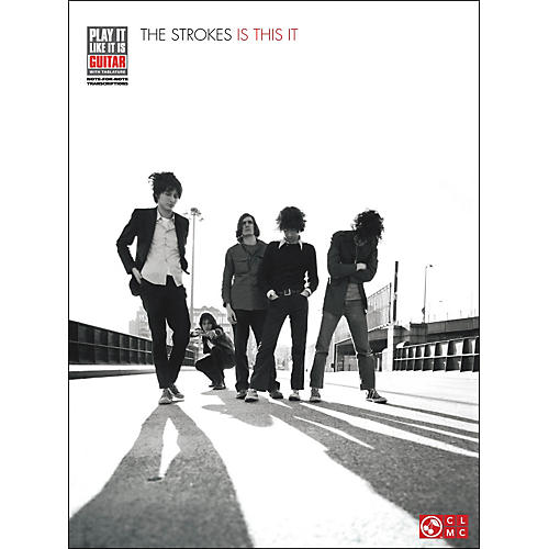 Cherry Lane The Strokes - Is This It Tab Book