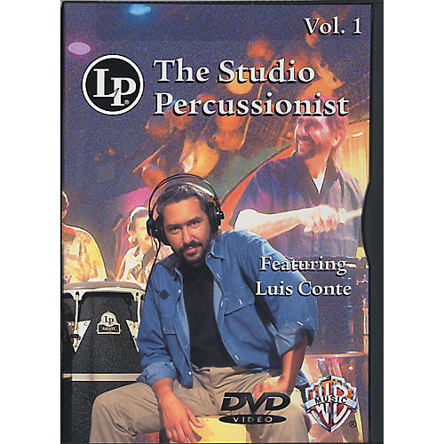 LP The Studio Percussionist Vol. 1 featuring Luis Conte DVD-thumbnail