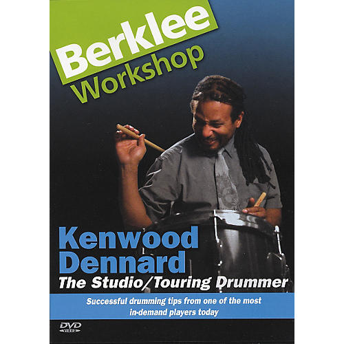 Berklee Press The Studio/Touring Drummer (DVD)-thumbnail
