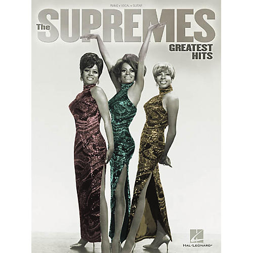 Hal Leonard The Supremes Greatest Hits Songbook-thumbnail