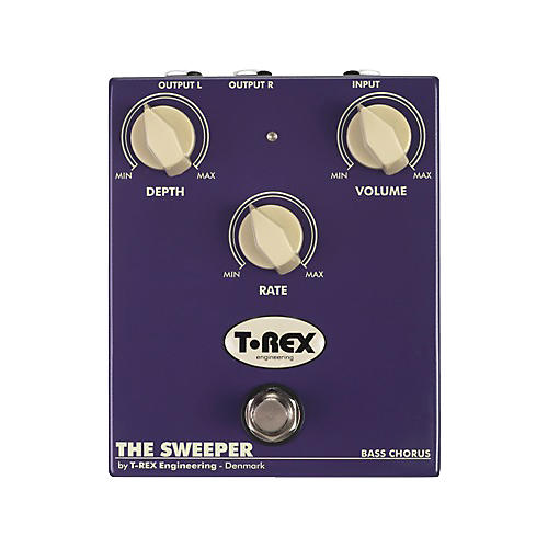 T-Rex Engineering The Sweeper Bass Chorus Effects Pedal