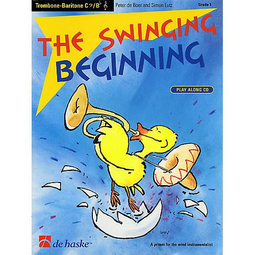 De Haske Music The Swinging Beginning (Trombone) De Haske Play-Along Book Series