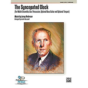 Alfred The Syncopated Clock Percussion Ensemble Score and Parts by Alfred