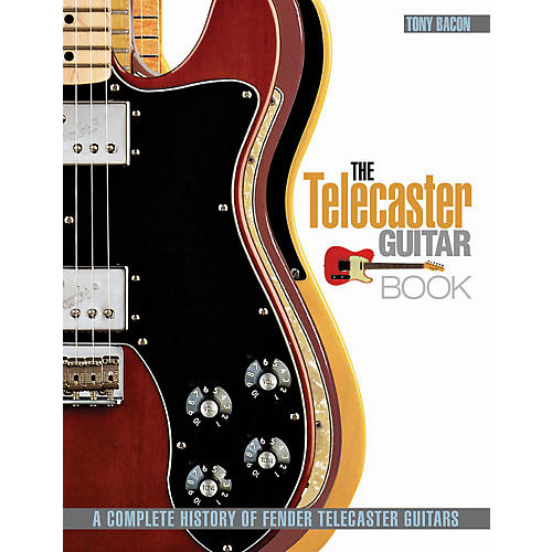 Hal Leonard The Telecaster Guitar Book - A Complete History Of Fender Telecaster Guitars-thumbnail