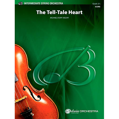 Alfred The Tell-Tale Heart - String Orchestra Grade 2.5 Set-thumbnail