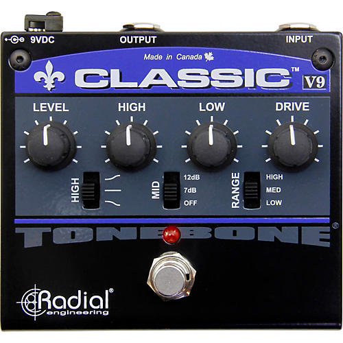 Radial Engineering The Tonebone Classic-V9 Distortion Pedal
