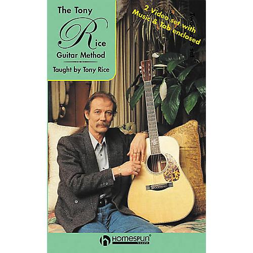 Homespun The Tony Rice Guitar Method (2-VHS Set)-thumbnail