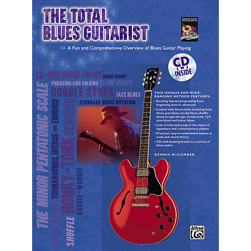 Alfred The Total Blues Guitarist Book and CD-thumbnail