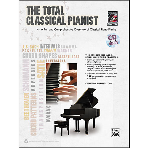 Alfred The Total Classical Pianist (Book/CD)