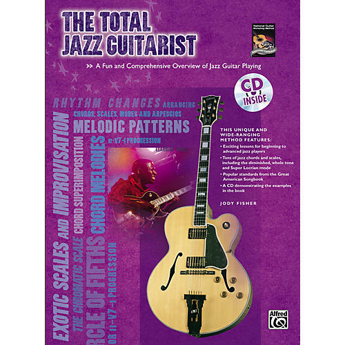 Alfred The Total Jazz Guitarist Book and CD-thumbnail