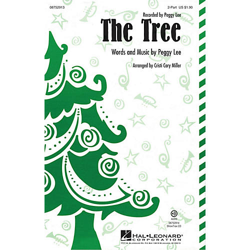 Hal Leonard The Tree 2-Part by Peggy Lee arranged by Cristi Cary Miller