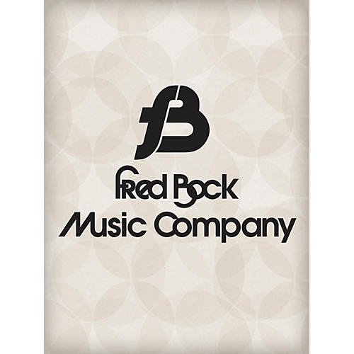 Fred Bock Music The Tree SATB Arranged by Fred Bock
