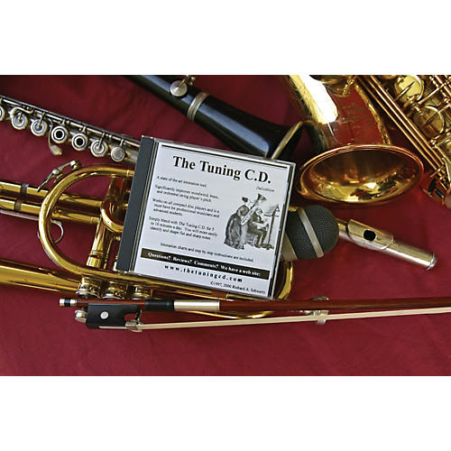 Woodwind & Brasswind The Tuning CD Chromatic Ear Training System-thumbnail