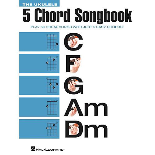 Hal Leonard The Ukulele 5 Chord Songbook (C-F-G-Am-Dm)-thumbnail
