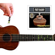 Fret Daddy The Ukulele Fretboard Note Map