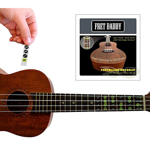 Fret Daddy The Ukulele Fretboard Note Map-thumbnail