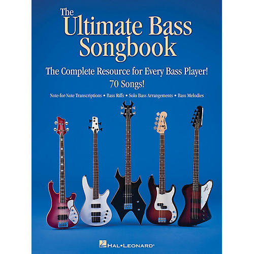 Hal Leonard The Ultimate Bass Songbook - The Complete Resource For Every Bass Player