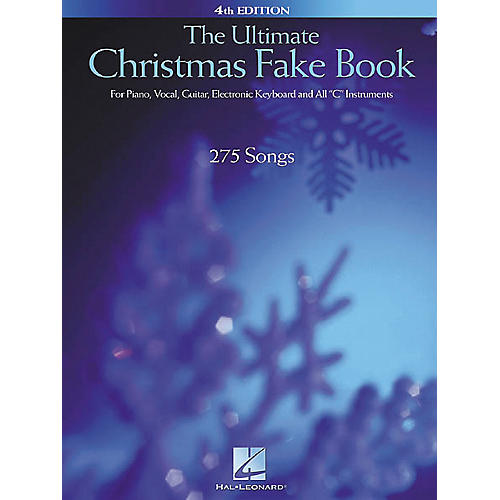 Hal Leonard The Ultimate Christmas Fake Book 4th Edition-thumbnail