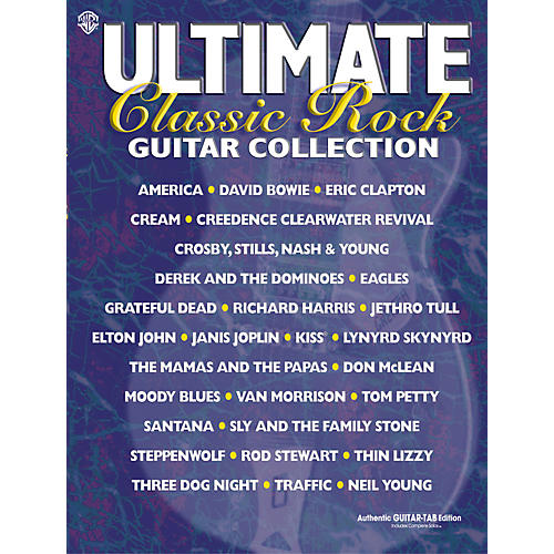 Alfred The Ultimate Classic Rock Guitar Tab Songbook Collection