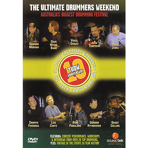 Hudson Music The Ultimate Drummers Weekend #10 (DVD)-thumbnail