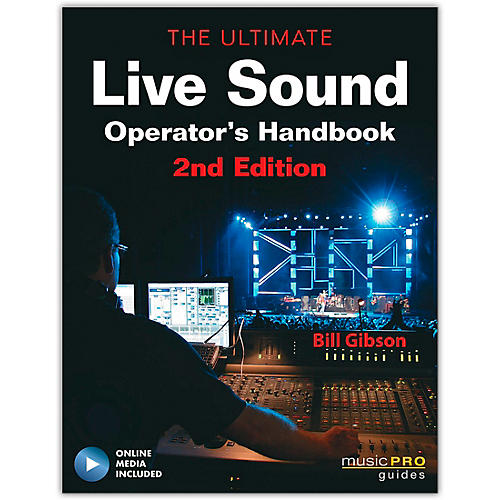 Hal Leonard The Ultimate Live Sound Operator's Handbook 2nd Edition (Book/Online Media)-thumbnail