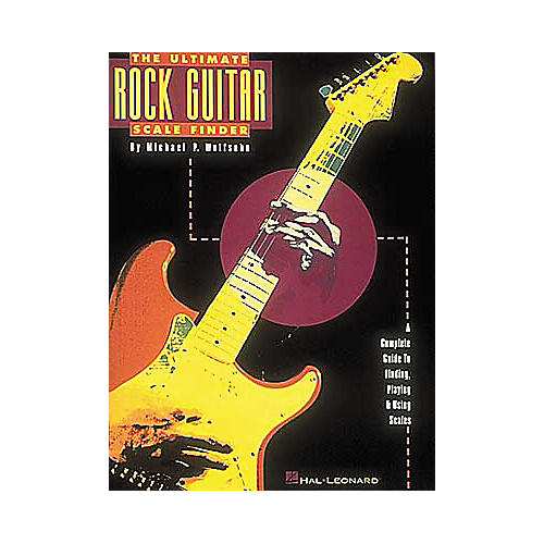 Hal Leonard The Ultimate Rock Guitar Scale Finder Book-thumbnail