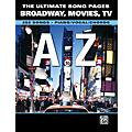 Alfred The Ultimate Song Pages Broadway Movies TV A to Z Piano/Vocal/Chords-thumbnail