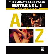 Alfred The Ultimate Song Pages Guitar Vol. 1 A to Z